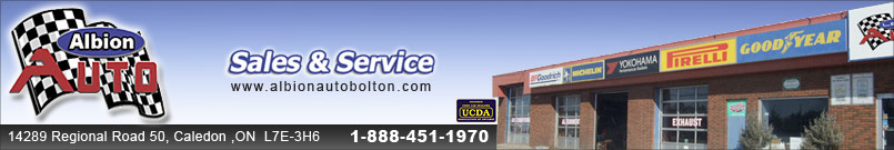 ALBION AUTO SALES AND SERVICE