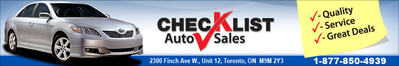CHECK LIST AUTO SALES