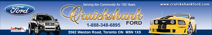 CRUICKSHANK FORD