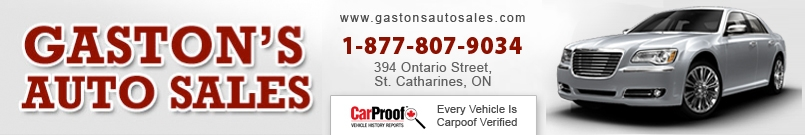 GASTON'S AUTO SALES