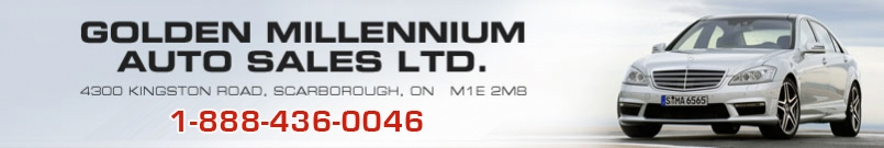 GOLDEN MILLENNIUM AUTO SALES  LTD