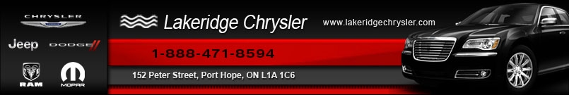 LAKERIDGE CHRYSLER DODGE JEEP LTD - NEW CAR