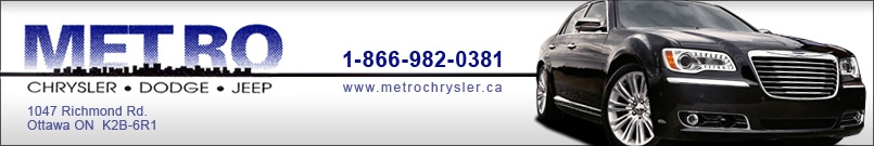 METRO CHRYSLER DODGE JEEP