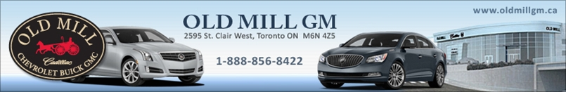 Old Mill Gm >> Old Mill Cadillac Buick Gmc Toronto Wheels Ca
