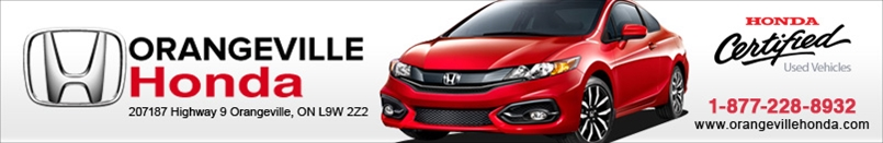 ORANGEVILLE HONDA