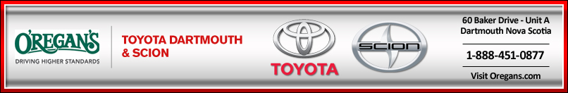 O&#39;REGAN&#39;S TOYOTA DARTMOUTH