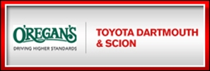 O'REGAN'S TOYOTA DARTMOUTH