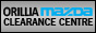 ORILLIA MAZDA CLEARANCE CENTER