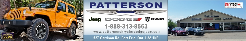 PATTERSON CHRYSLER DODGE JEEP