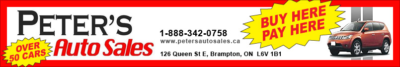 PETERS AUTO SALES