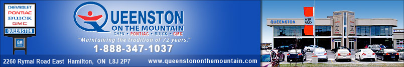QUEENSTON CHEVROLET BUICK GMC | Hamilton | Wheels.ca