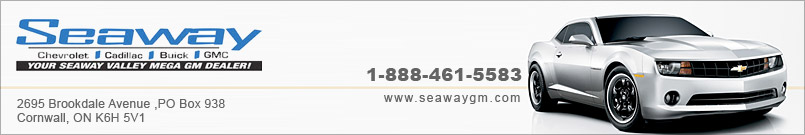 SEAWAY CHEVROLET CADILLAC BUICK GMC