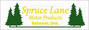 SPRUCE LANE MOTORS PRODUCTS