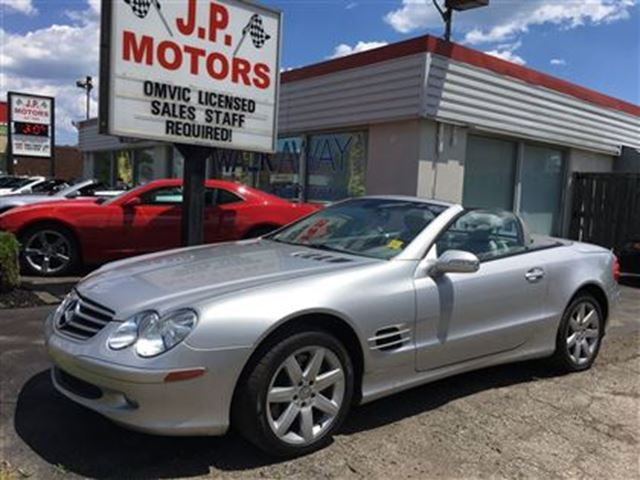 2003 Mercedes-Benz SL-Class