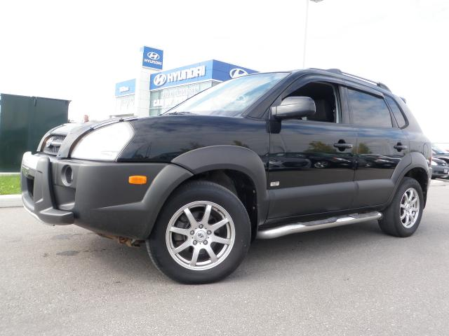 2007 hyundai tucson v6 4x4 viva w four new tires. Black Bedroom Furniture Sets. Home Design Ideas