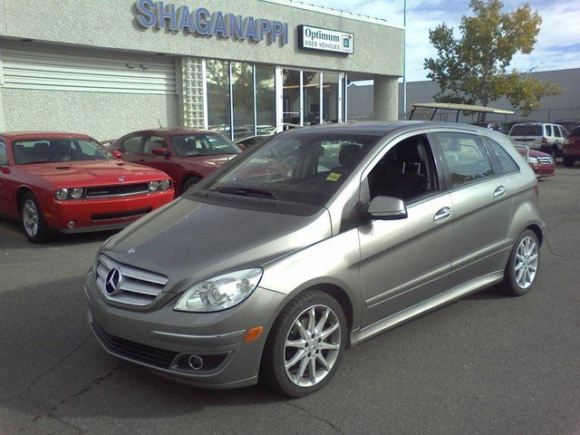 2007 mercedes benz b class b200 turbo calgary alberta used car for sale. Black Bedroom Furniture Sets. Home Design Ideas