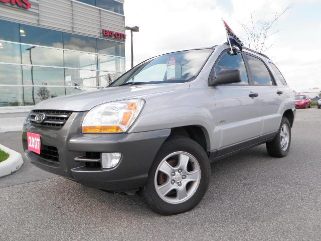 2007 kia sportage lx barrie ontario used car for sale. Black Bedroom Furniture Sets. Home Design Ideas