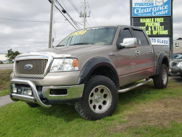 2004 ford f 150 lariat 4x4 orillia ontario used car for. Black Bedroom Furniture Sets. Home Design Ideas