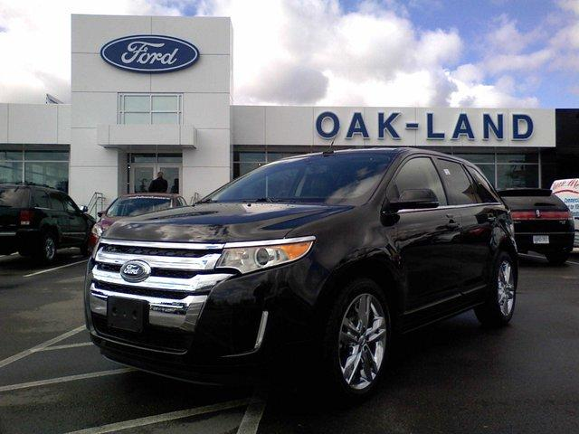 2013 Ford Edge Limitied Pkg Inch Wheels Oakville