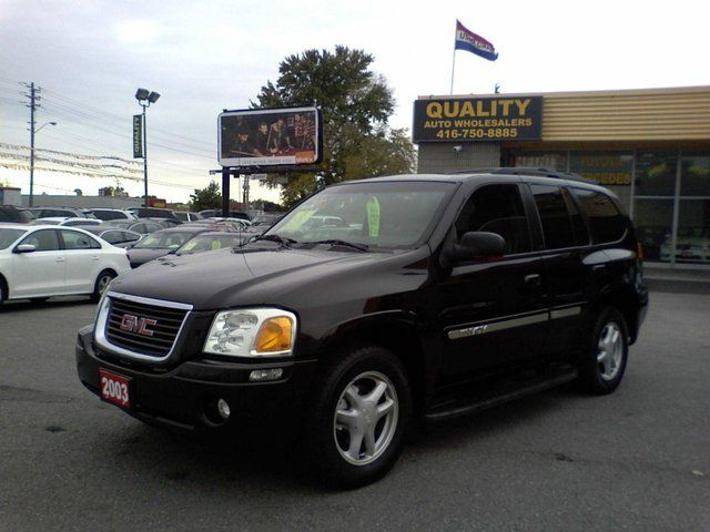 2003 gmc envoy 4x4 scarborough ontario used car for sale. Black Bedroom Furniture Sets. Home Design Ideas