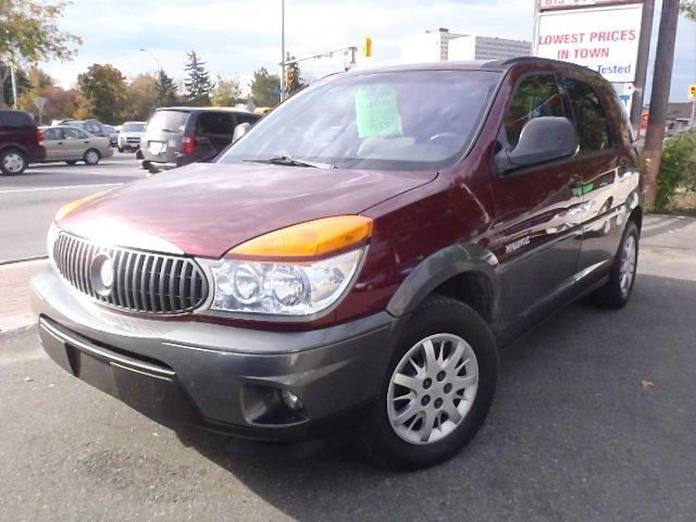 2003 buick rendezvous cx ottawa ontario used car for sale. Black Bedroom Furniture Sets. Home Design Ideas