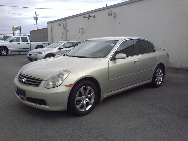 2005 infiniti g35 x g35x sedan ottawa ontario used car. Black Bedroom Furniture Sets. Home Design Ideas