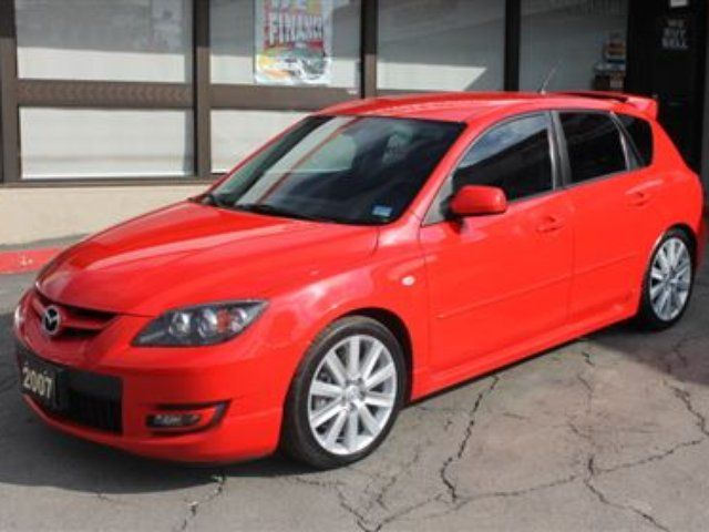 2007 mazda mazda3 mazdaspeed 6 speed turbocharged. Black Bedroom Furniture Sets. Home Design Ideas