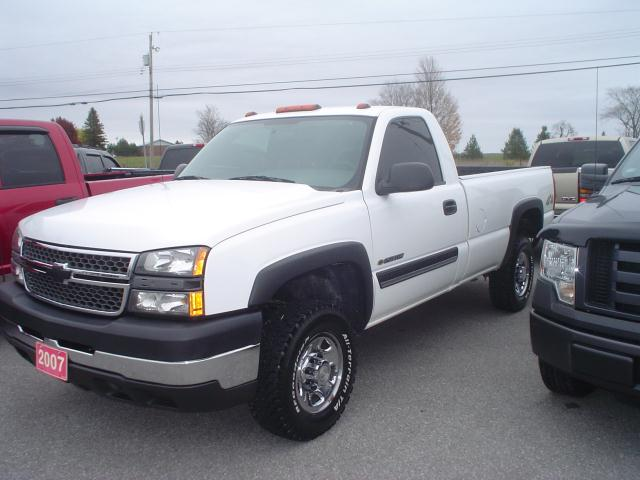 2007 chevrolet silverado 2500 ls 4x4 cameron ontario used car for. Cars Review. Best American Auto & Cars Review