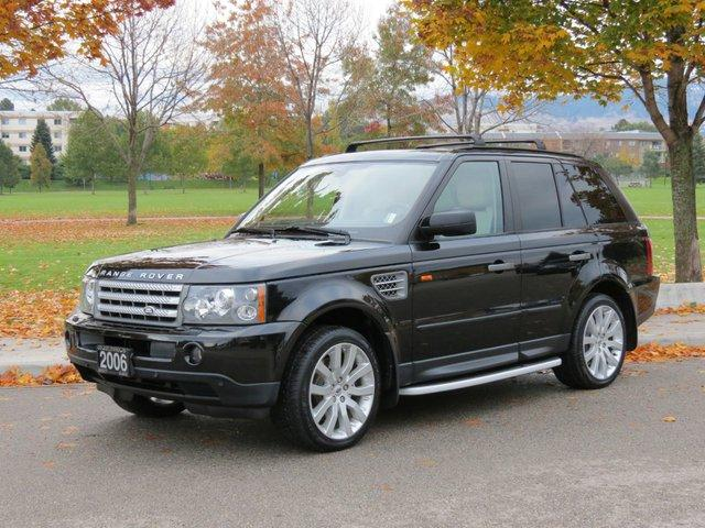 2006 land rover range rover sport supercharged kelowna british columbia used car for sale. Black Bedroom Furniture Sets. Home Design Ideas