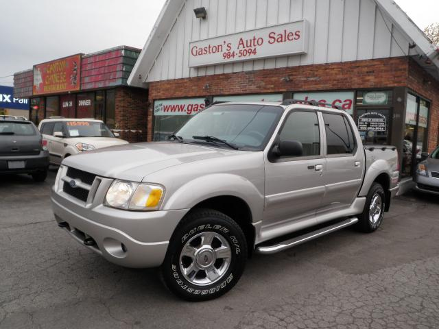 2005 ford explorer sport trac adrenalin 4x4 loaded st catharines. Cars Review. Best American Auto & Cars Review