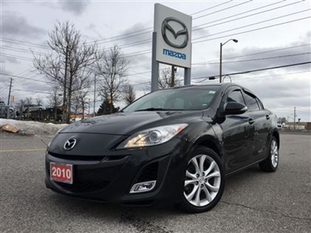 2010 mazda mazda3 gt black agincourt mazda. Black Bedroom Furniture Sets. Home Design Ideas