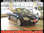 2009 Volkswagen Eos CONVERTIBLE HARD TOP!!! FACTORY WARRANTY !!! TURBO !!! 1 OWNER !!! ALLOY WHEELS !!!! in Bathurst, New Brunswick