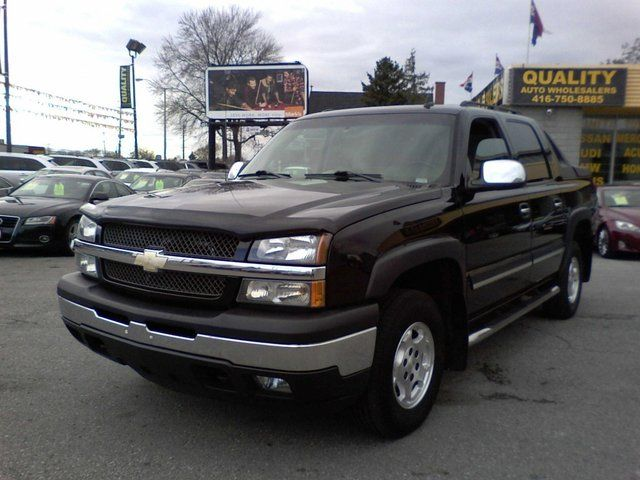 2006 chevrolet avalanche 1500 4x4 scarborough ontario used car for sale. Black Bedroom Furniture Sets. Home Design Ideas