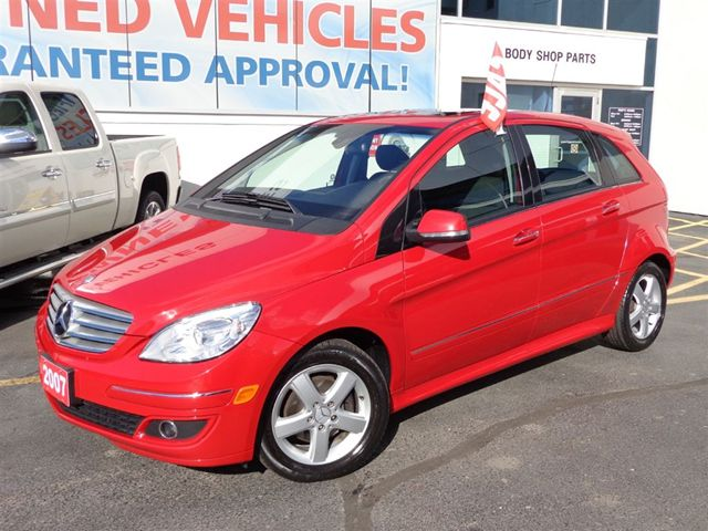 2007 Mercedes Benz B Class Only 55487km Roof Like New