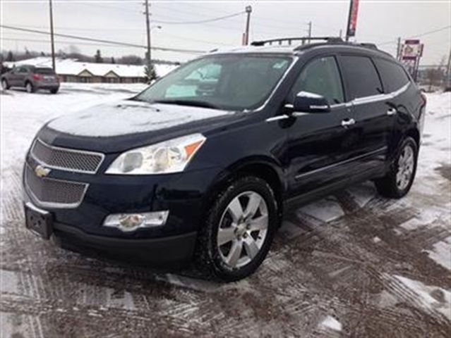 2012 chevrolet traverse ltz awd peterborough ontario used car for. Cars Review. Best American Auto & Cars Review