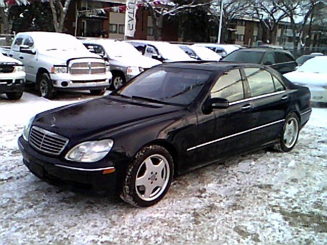 2002 mercedes benz s class s55 amg edmonton alberta for Mercedes benz 2002 s500 for sale