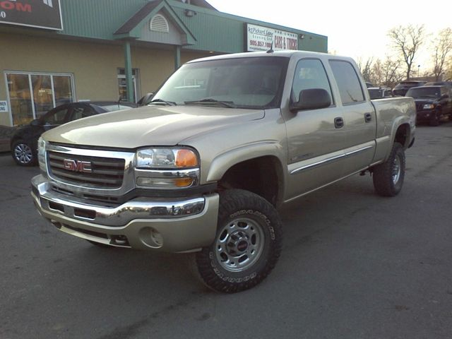 2005 GMC Sierra 2500 LEATHER INT!!! CREW CAB!!! 4WD ...