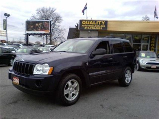 2006 jeep grand cherokee laredo scarborough ontario used car for. Cars Review. Best American Auto & Cars Review