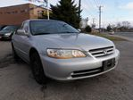 2001 Honda Accord  LX Auto 4Cyl FREE OF ACCIDENTS in Scarborough, Ontario
