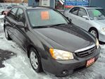2005 Kia Spectra LX REMOTE STARTER SAFETY AND ETESTED FINANCING AVAILABLE in Ottawa, Ontario image 3