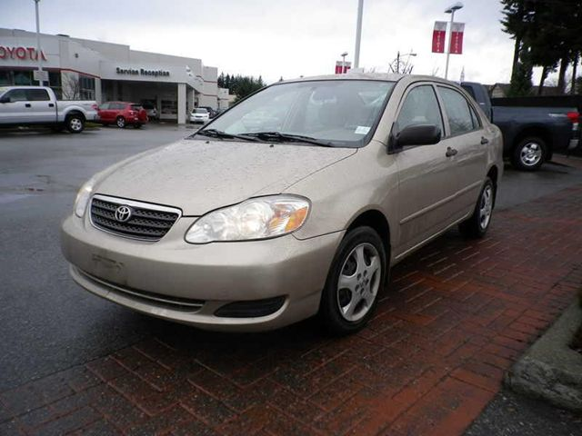 2006 toyota corolla ce surrey british columbia used car for sale. Black Bedroom Furniture Sets. Home Design Ideas