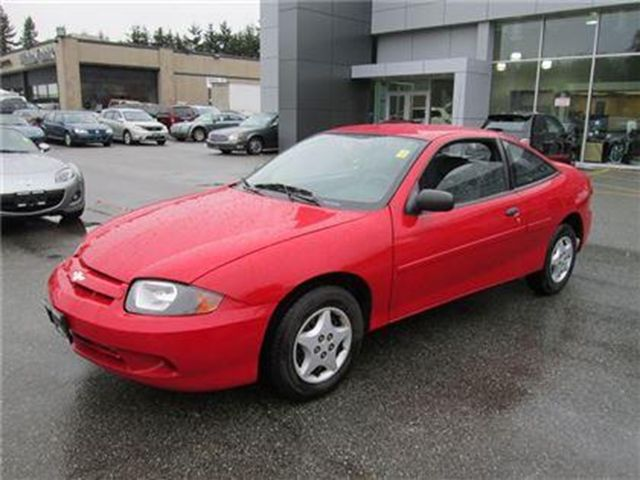 2005 chevrolet cavalier vl finance this car surrey british columbia used car for sale. Black Bedroom Furniture Sets. Home Design Ideas