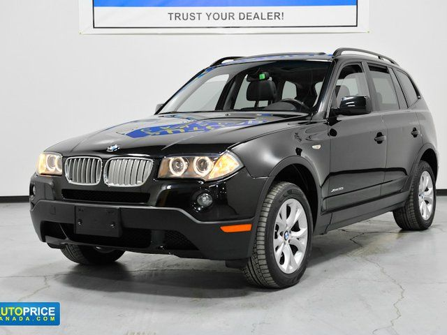 2009 bmw x3 xdrive30i mississauga ontario used car for sale. Black Bedroom Furniture Sets. Home Design Ideas