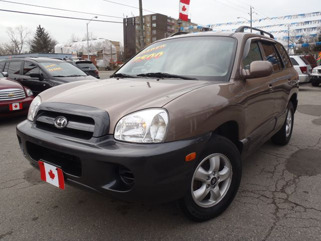 2005 hyundai santa fe gl scarborough ontario used car for sale. Black Bedroom Furniture Sets. Home Design Ideas