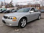 2001 Lincoln LS HTD LTHR ROOF ALLOYS  SHARP in Scarborough, Ontario