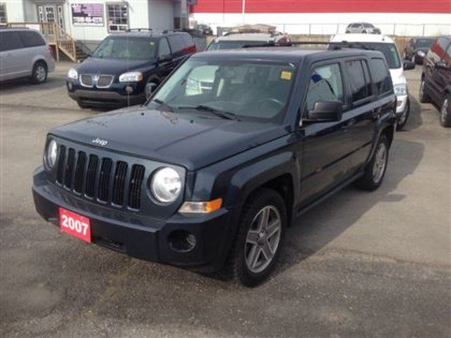 2007 jeep patriot sport awd london ontario used car for. Black Bedroom Furniture Sets. Home Design Ideas