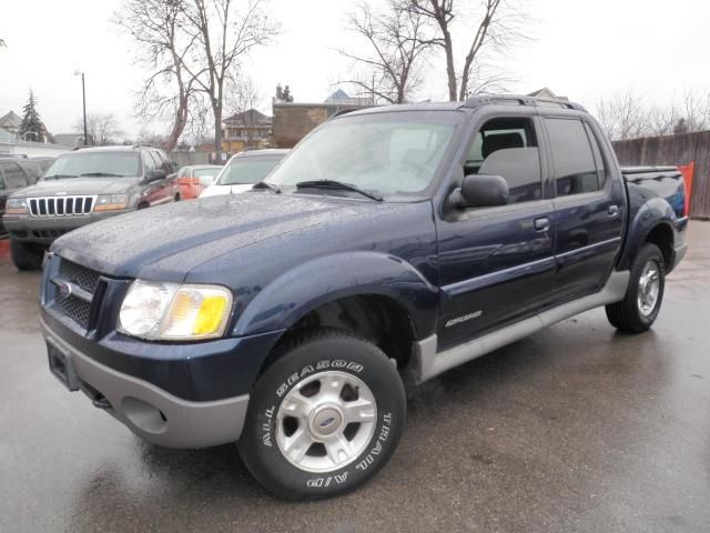 2002 Ford Explorer Sport Trac Convenience Blue Fyne Cars Of London