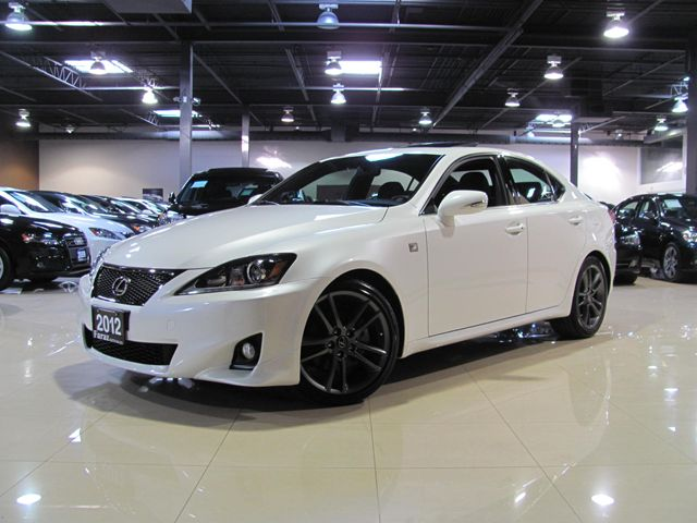 2012 lexus is 250 f sport pkg bumper to bumper factory warranty toronto ontario used car for. Black Bedroom Furniture Sets. Home Design Ideas