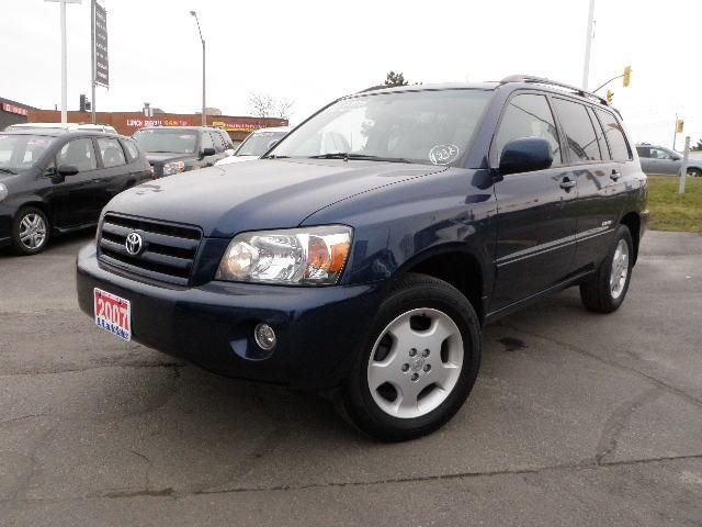 2007 toyota highlander 7 passenger brampton ontario. Black Bedroom Furniture Sets. Home Design Ideas