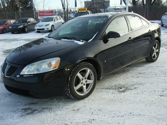 2006 pontiac g6 gt sedan gatineau quebec used car for sale. Black Bedroom Furniture Sets. Home Design Ideas